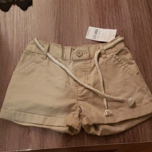 Girls drawstring shorts